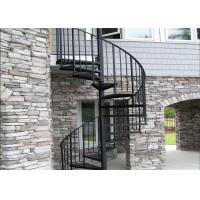 Modern Frameless Glass Spiral Staircase , Residential Decorative Spiral Staircase Manufactures