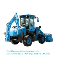 0.1Cbm 3.4 Ton Front End 4x4 Construction Wheel Loader Manufactures