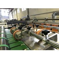 China Jumbo Paper Roll Paper Slitting Machines With Automatic Squaring System on sale