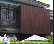 Eco Friendly Bamboo Timber Wall Panels , Exterior Wood Plank Wall Paneling Manufactures