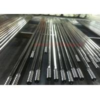 T51 4265mm Threaded Steel Rod / Drill Extension Rod Customized Length Manufactures