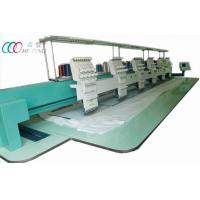 Computerized Automatic Cap / T Shirt Embroidery Machine Six Head 9 Needle Manufactures