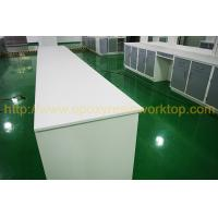 Acid resistant laboratory bench top with monolithic tec 12mm Thickness Manufactures