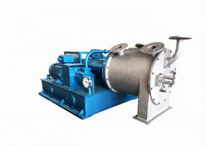 PLC Control Two Stage Pusher Type Centrifuge For EPS Dewatering Manufactures