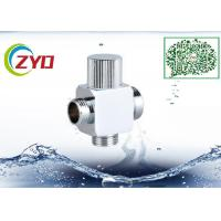 Buy cheap 1/2MX3/4MX3/4M Brass Chrome Plated Three Way Square t Shower System Faucet Water from wholesalers