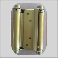 Modern Design Spring Loaded Hinges Brass Plated  For Residential House Manufactures