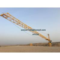 Cheap TC7040 16TONS Remote Control Real Estate The Tower Crane Cat Head Type for sale