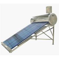 evacuated tube solar water heating system Manufactures