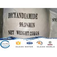 ISO / BV Acceptable Dicyandiamide Dcd 99.5%min industry and electronic Manufactures