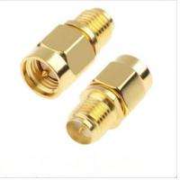 Straight/ Right Angle Plug Sma Coaxial Cable Connectors Excellent Performances Manufactures