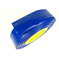 China Flex PVC Layflat Hose Pipe Good Flexibility Water Delivery Hose Pipe on sale