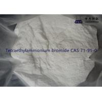 CAS 71-91-0 Industrial Chemical Solvents Tetraethylammonium Bromide White Crystal Manufactures