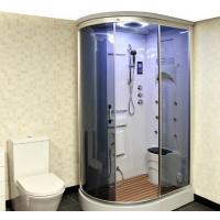 China Curved Moulded Steam Shower Cubicle on sale