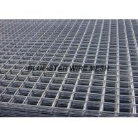 Square Hole Stainless Steel Welded Wire Mesh Panels 2.4m Width Abrasion Resistance Manufactures