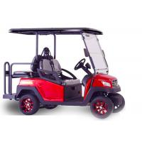 Special Design Electric Car Golf Cart , Multi Functional Motorised Golf Trolley Manufactures