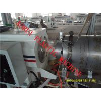 China HDPE Pipe Extrusion Line , Drainage Water Pipe Plastic Machinery on sale