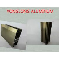 Oxidizing Champagne Anodized Aluminum Profiles For Decoration / Industrial Manufactures