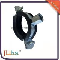 Cheap Zinc Galvanized Rubber Lined Cast Iron Pipe Clamps For Pvc Pipe Standard for sale