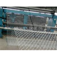 Green / Dark Green Stone Cage Wire Mesh Low Carbon Steel Wire For River Protection Manufactures