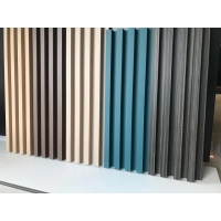 2021 new type big board for decoration PVC with Bamboo wood sheet WPC sheet use for Ceiling and Wall Manufactures