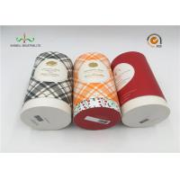Buy cheap Art Paper Cylinder Packaging Box , T - Shirt Tube Packaging For Clothing from wholesalers