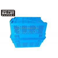 Buy cheap Standard Plastic Storage Box Shipping Crates Certificates SGS , ISO9001, ISO14001 from wholesalers