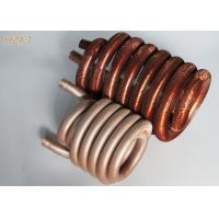 Cheap Pool / Spa Water Pumps Finned Tube Coils / Roll Forming Process Fin Coil for sale