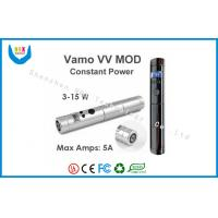 Quality 2200mah LCD Vamo Lavatube E Cigarette , VAMO VV MOD Electronic Cigarette for sale