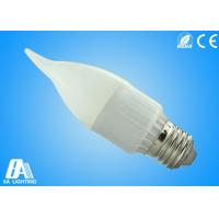 3W LED Light Candle Bulbs Diffusion Cover With Color Temparature Manufactures