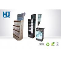 Cardboard Pallet advertising display stands With Shelf For Products Show Manufactures