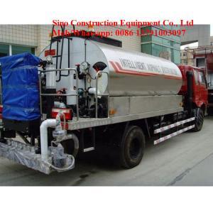 J9BDE SCEC Road Construction Machines 5000LAsphalt Distributor Truck Manufactures