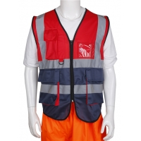 3XL 4XL Reflective Safety Vests With Dm Reflective Tape Manufactures