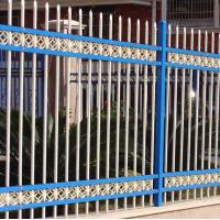 Customized Metal Tubular Picket Security Fence Systems For Wall And Gate Manufactures