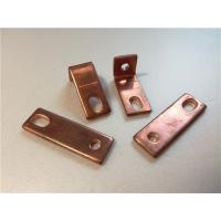 Thick Bended Pure Copper Sheet Metal Bending Dies One Fixed Hole / Adjustable Hole Manufactures