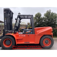 4 Cylinders 85KW 10t Forklift Truck LG100DT Euro II Manufactures