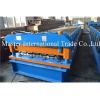 Two models roofing sheet roll forming machine with speed 10-15 m /min