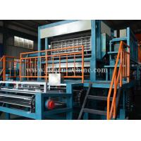 8 Sides Rotary Reclying Paper Pulp Molding Machine Egg Tray Making , CE & ISO9001 Manufactures