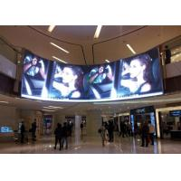 China 5mm Pixel Pitch Curved LED Panels 1/16 Scan Constant Current Commercial LED Displays on sale