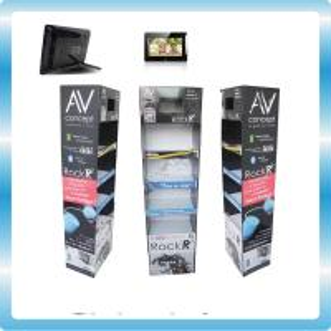 China Remote Control USB POS LCD Display LCD AD player AC 110V-240V 50/60HZ on sale