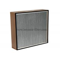 Replacement Electric Hepa Air Filters With Wooden Frame , Portable Manufactures
