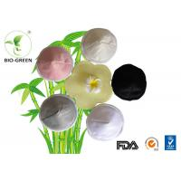 Organic Round Bamboo Breast Pads , Waterproof Thin Bamboo Cloth Pads Manufactures