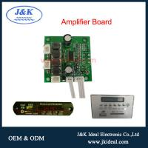 Cheap JK-AMP  2ch*15w  fm usb SD aux bluetooth audio amplifier board with mp3 module for sale