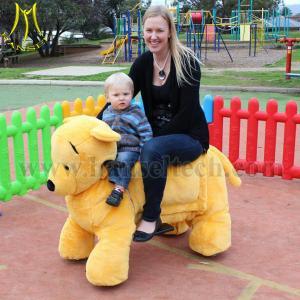 China Hansel Wholesale kids battery powered mini amusement park ride zippy animal rides on sale