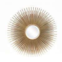 FR-15402 sunburst wall mirror for home decoration in metal with gold leaf Manufactures