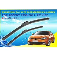 "Hyundai 1999 - 2011 Rubber Wiper Blade With Universal Hook 22 "" / 16 "" Manufactures"