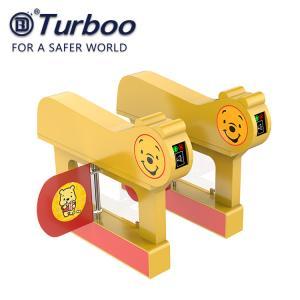 IC Reader Security Waist High Turnstile N/A Infrared Sensor 24V 120W For Kids Safety Manufactures