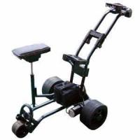 Electric Aluminum Golf Trolley, Double Frame, Motorised Manufactures