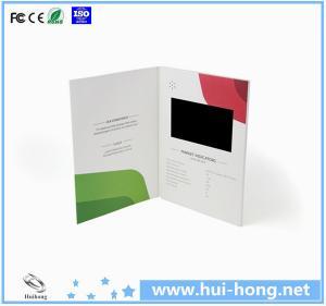 "Cheap 1.8/2.4/2.8/3.5/4.3/5/7/10"" tft lcd video postcard/advertising video card/video advertising cards for sale"
