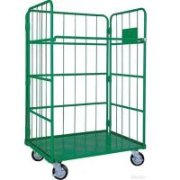 Collapsible Roll Cage Container High Mobility High Strength Rust Resistant Manufactures