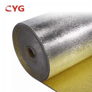 Anti Slip Pe Aluminum Foil Backed Foam Insulation Adhesive Manufactures